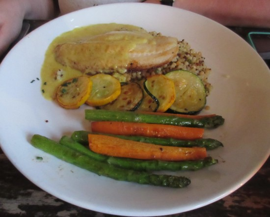 grouper with couscous!