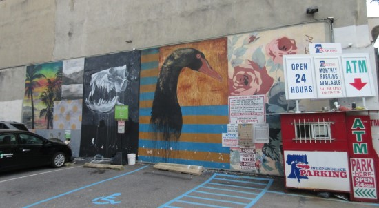 independence parking mural!