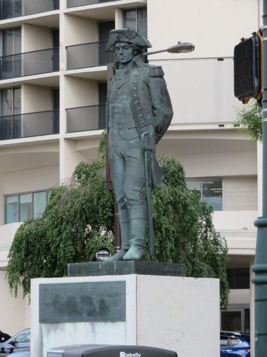 Kosciuszko statue!