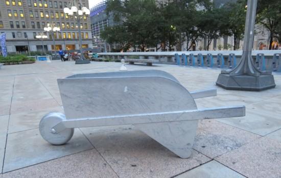 Monopoly wheelbarrow!