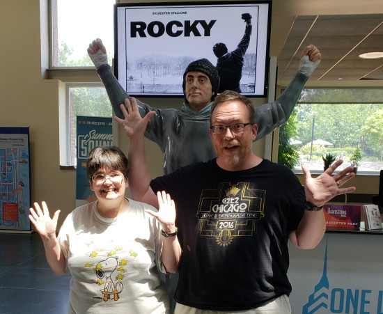 Rocky and Us!