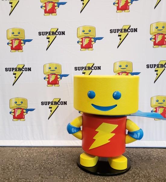 Supercon mascot!