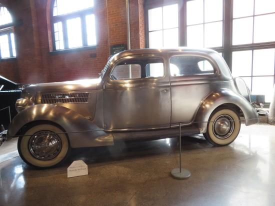 1936 ford deluxe sedan!
