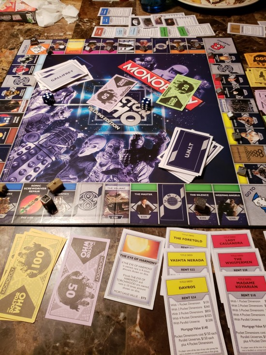 doctor who monopoly!
