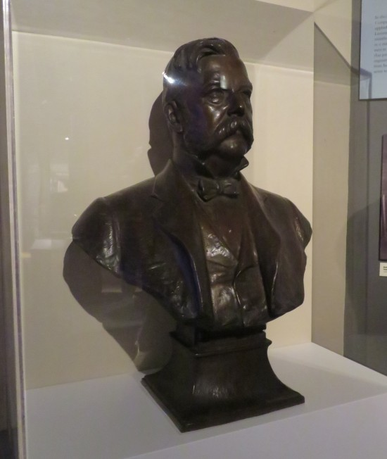 george westinghouse bust!