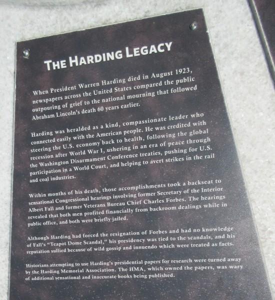 harding legacy!