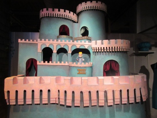 king friday's castle!