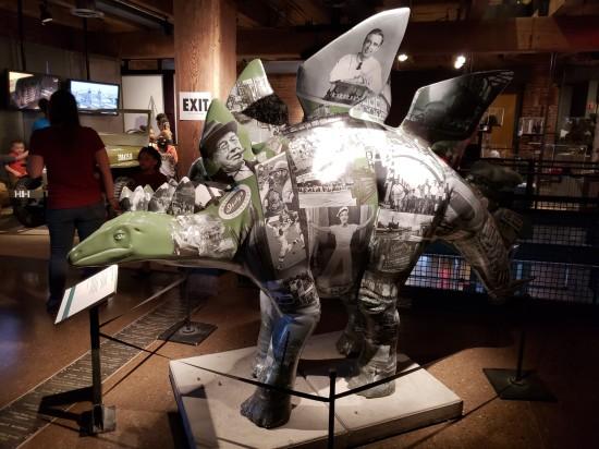 lost pittsburgh stegosaurus!