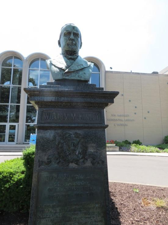 McKinley bust!
