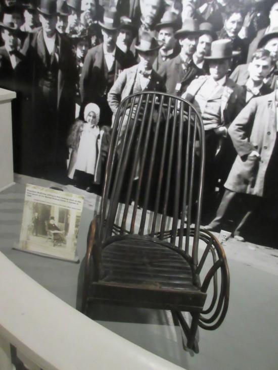 mckinley rocking chair!