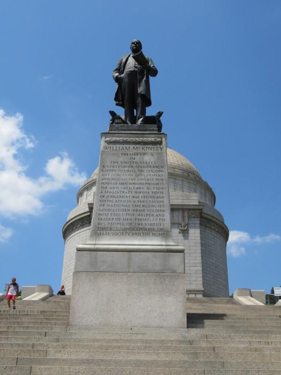 McKinley statue!