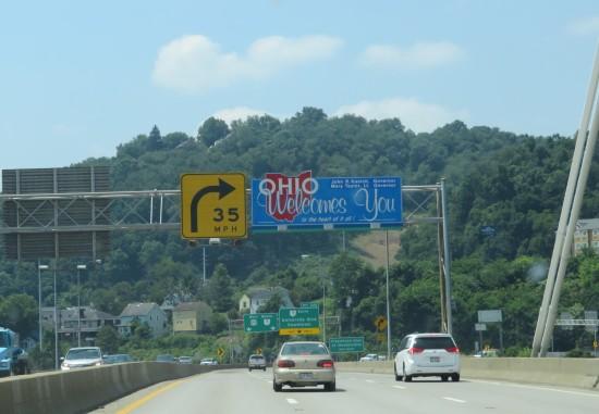Ohio welcomes you!