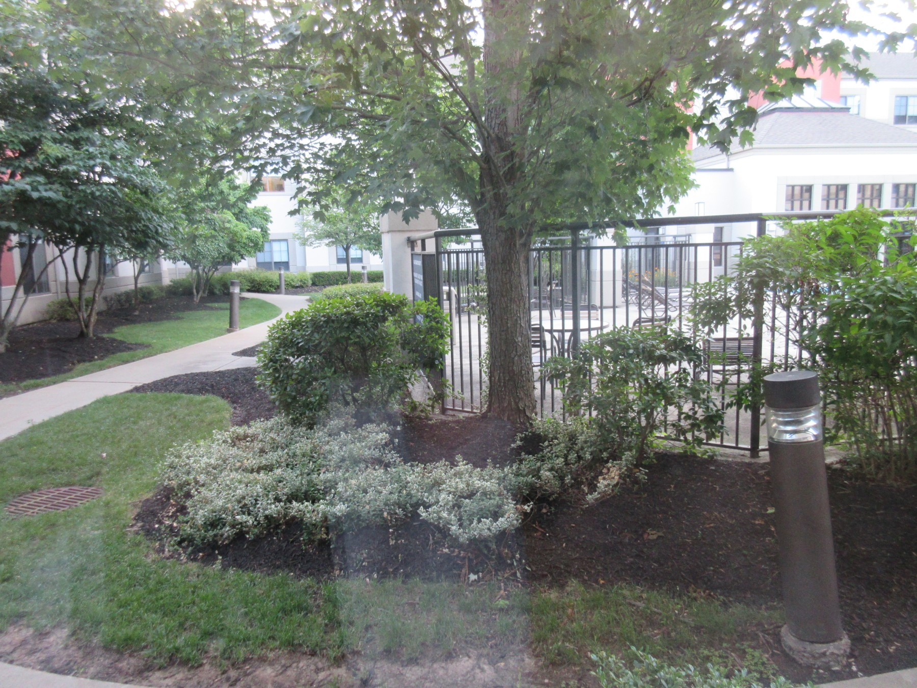 parsippany courtyard!