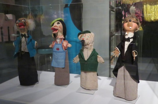 Mister Rogers puppets!