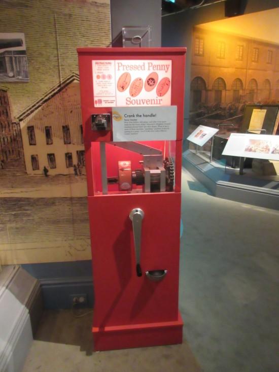 smashed penny machine!