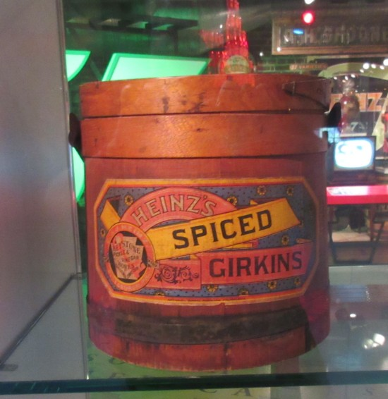 spiced girkins!