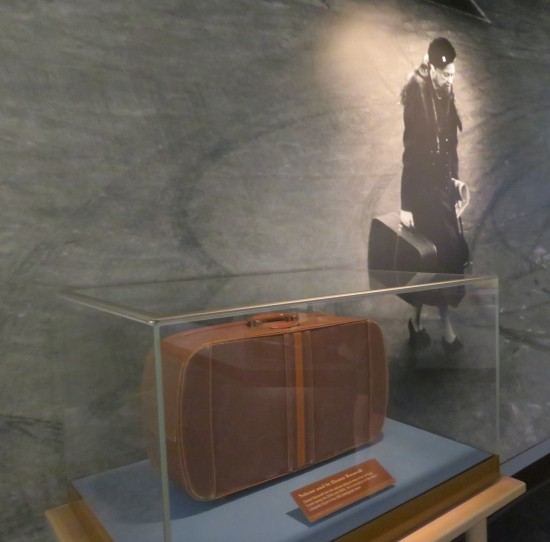 Eleanor Roosevelt suitcase!