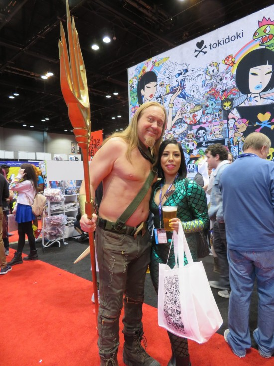Aquaman and Mera!