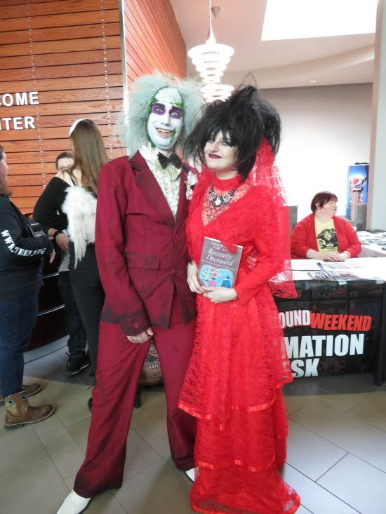 Beetlejuice and Lydia!