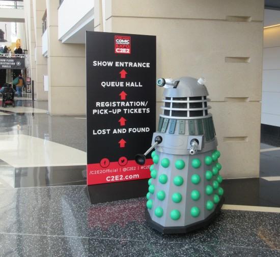 C2E2 Dalek!