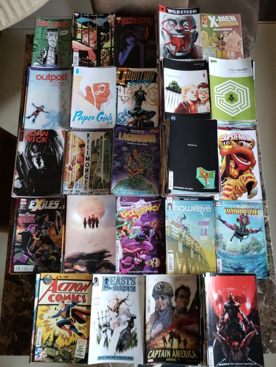 Comics 2018!