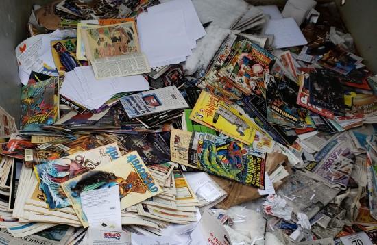 Comics Culling...