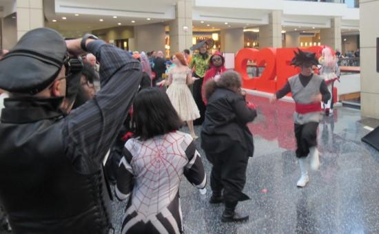 Dancing Goku Black!