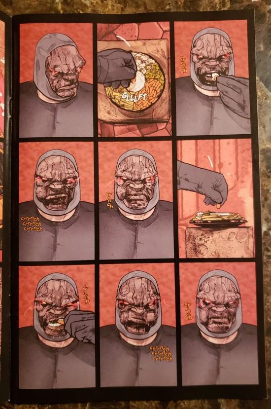 Darkseid Eats!
