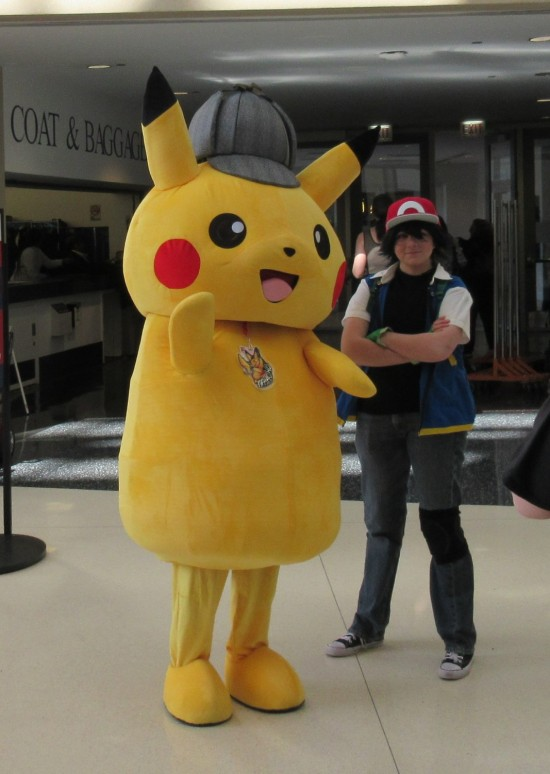 Detective Pikachu & Ash!