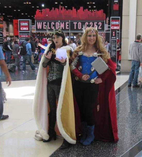 Loki and Thor!