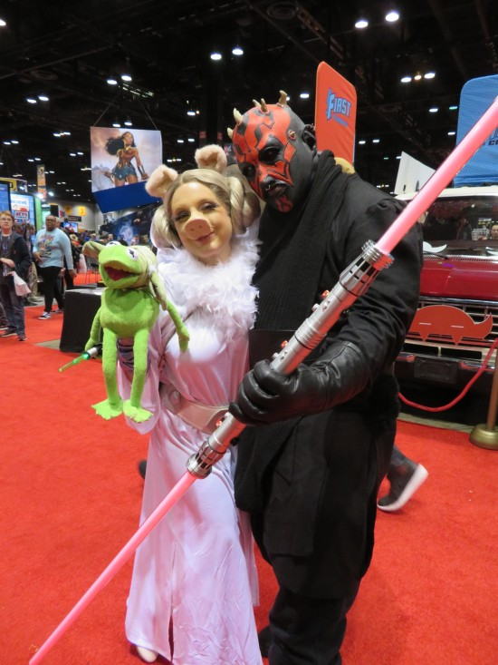 Miss Piggy and Darth Maul!