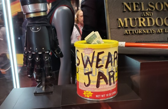 Pop's swear jar!