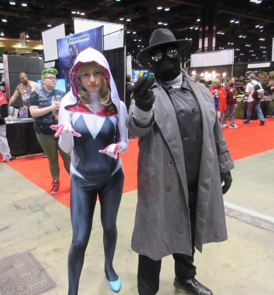Spider-Gwen and Spider-Man Noir!