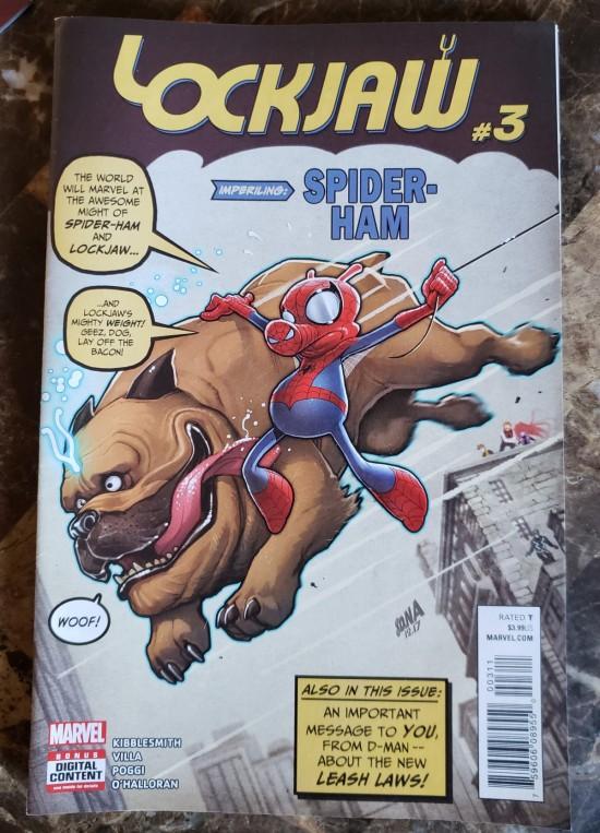 Spider-Ham & Lockjaw!
