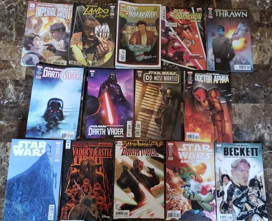 Star Wars Comics 2018!