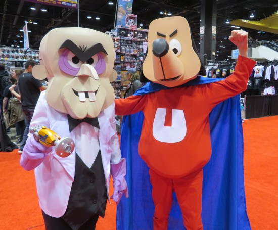 Underdog and Simon Bar Sinister!
