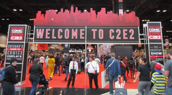 Welcome to C2E2!