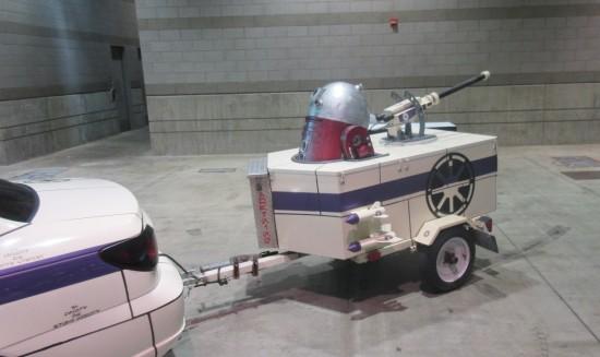 Astromech tailgunner trailer!