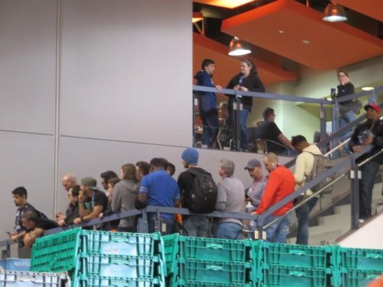 balcony watchers!