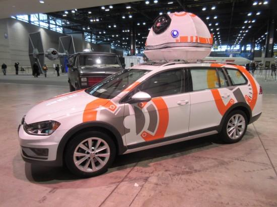 BB-8 VW wagon!