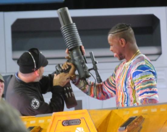 Boyega cannon!