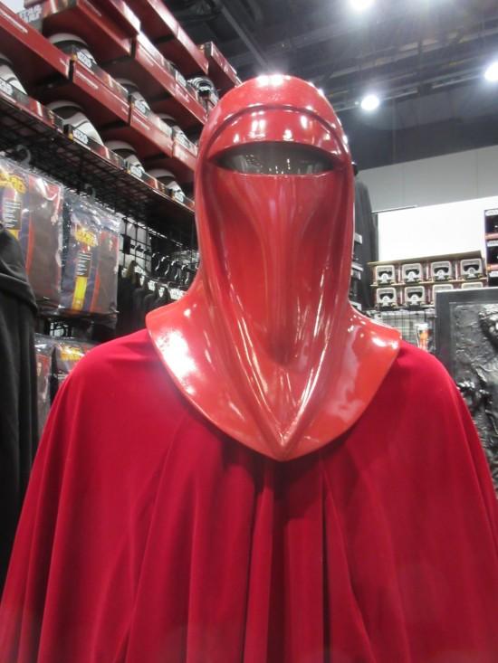 Crimson Guard mannequin!