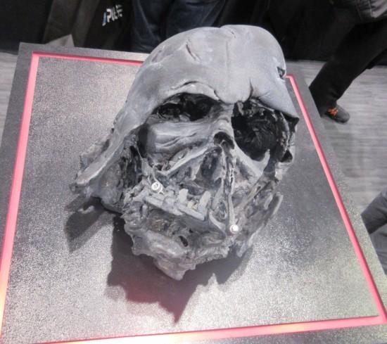 Crushed Vader Helmet!