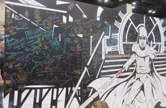 fan art wall!