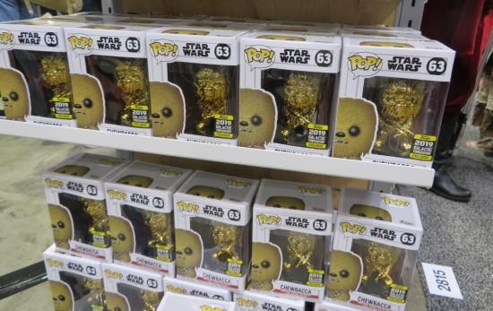Funko Pop Gold Chewie!