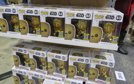 Funko Pop Gold Chewie!