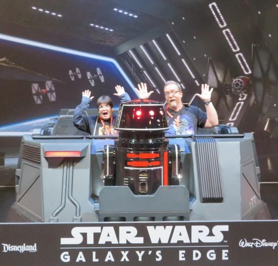 Galaxy's Edge coaster!
