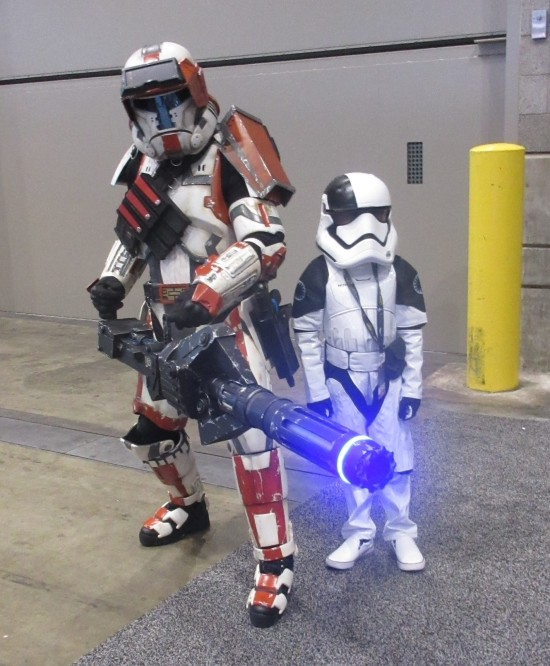 Gatling Trooper!