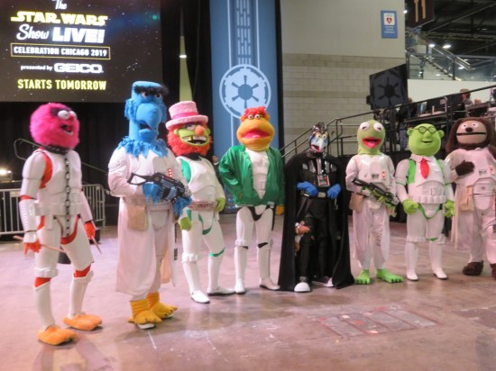Gonzo Vader and Muppet-troopers!