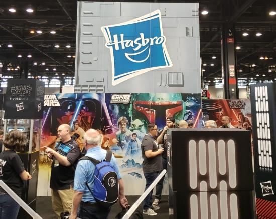 Hasbro booth!